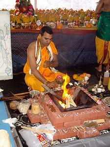 Cinmaya Maruti (Andover, MA) Chinmaya Maruti Fire Ceremony (Andover, MA)