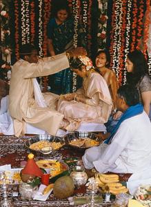 Vivaha Hindu Wedding Rite at Bharatiya Hindu Temple (Troy, MI)