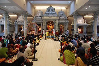 New Year's Ceremony at the Hindu Temple of Minnesota (Maple Grove, MN)