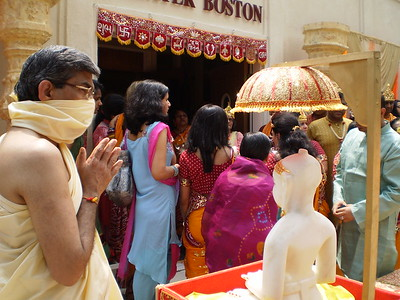 Center Inauguration of the Jain Center of Greater Boston, (Boston, MA)