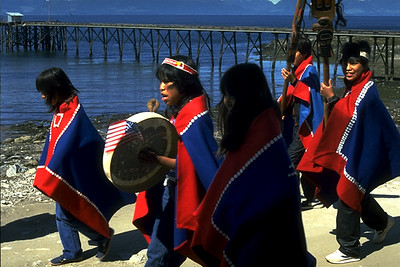 Members of a Native American Nation in the Pacific Northwest