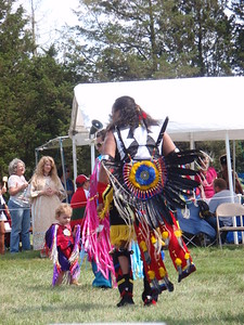 Dancing at the Order of the Preservation of Indian Culture Pow Wow (Boston, MA)
