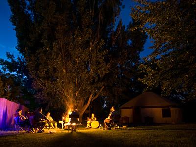 """""""Summer Drumming,"""" Rev. Heron/Tara Sudweeks Willgues (West Valley City, UT)"""