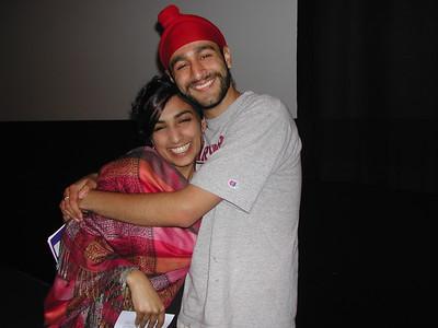 Filmmaker Valarie Kaur and Student After Film Screening at Harvard (Boston, MA)
