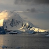 Evening over the ice flows of Antarctica (taken by D)