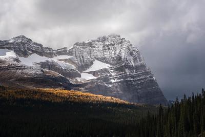 Mountain above Lake O'Hara, BC