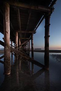 Under the Whiterock Pier, BC