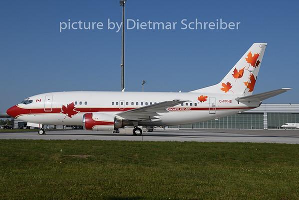 2020-09-20 C-FPHS Boeing 737-500