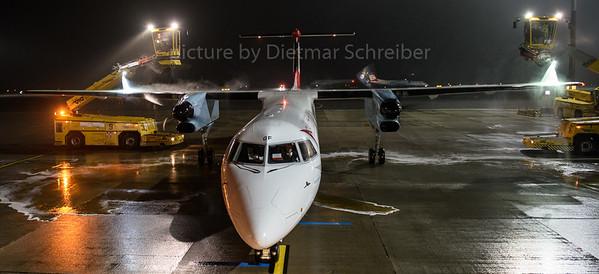 2016-12-19 OE-LGF Dash 8-400 Austrian Airlines