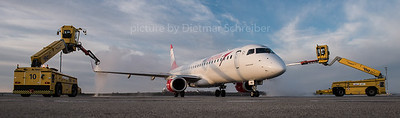 2016-02-12 OE-LWD Embraer 195 Austrian Airlines