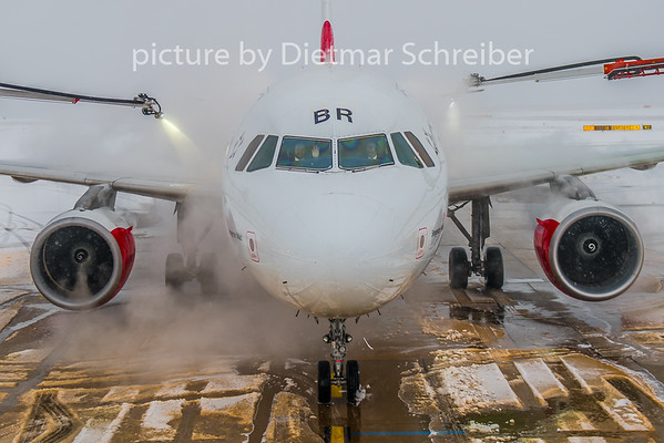 2019-01-28 OE-LBR Airbus A320 Austrian Airlines