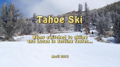 Tahoe Ski in April