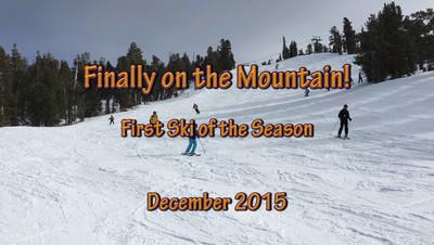 First Ski Outing of the Season!