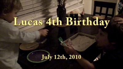 Lucas birthday presents