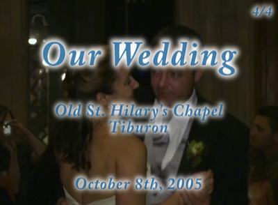 Our wedding (part 4/4)