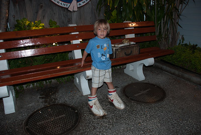 Funny bench in old Lahaina