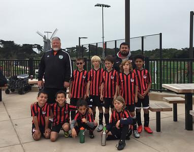 Glen Evolution FC - Summer 2016 team