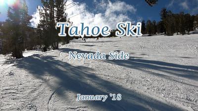 January in Tahoe