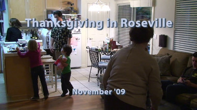 Thanksgiving in Roseville