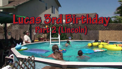 Lucas Birthday Part 2 (Lincoln)