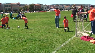 Lucas Soccer Practice Crissy Field