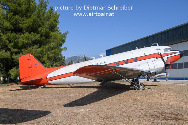 2021-09-04 SXECF Douglas DC3 Hellenic CAA