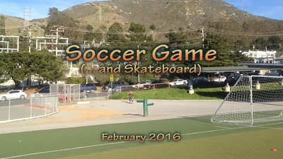 Soccer and Scateboard