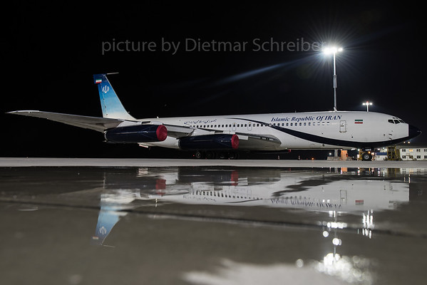 2016-03-30 EP-AJD / 1002 Boeing 707-300 Iran Government / Meraj AIr