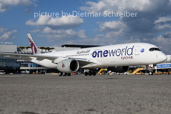 2018-07-12 A7-ALZ Airbus A350-900 Qatar Airways