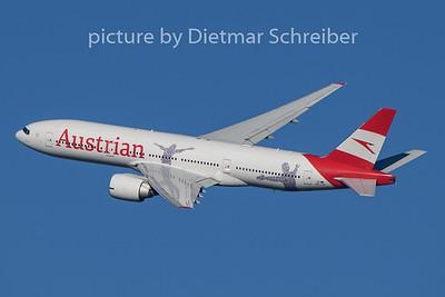 2020-01-12 OE-LPF Boeing 777-200 Austrian AIrlines