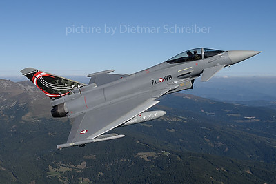 2019-09-05 7L-WB Typhoon Austrian Air Force
