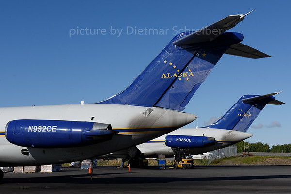 2017-05-30 N932CE / N935CE DC9-30 Everts Air Cargo