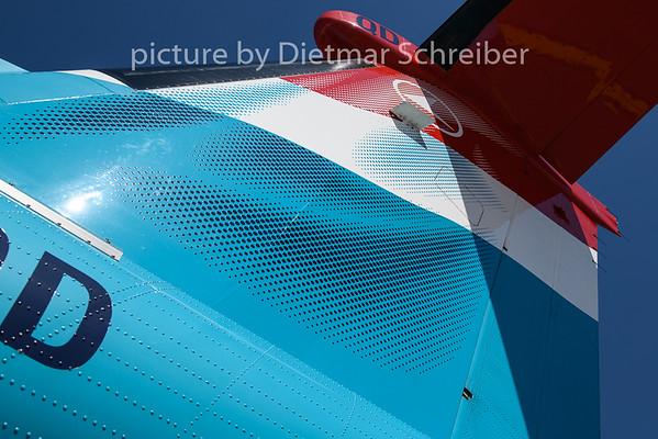 2020-08-07 LX-LQD Dash8-400 Luxair