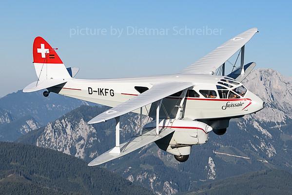 2019-09-04 D-IKFG Dragon Rapide Swissair