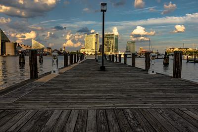 Pier at Inner Harbor