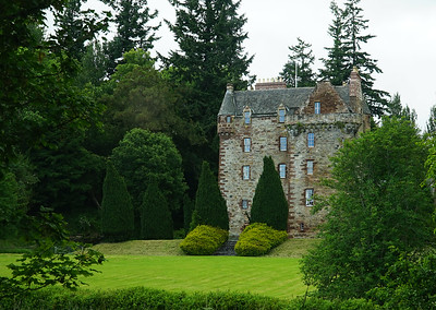 We 6/28  Central Scotland.  Leod Castle, seat of Clan MacKenzie, in the town of Strathpeffer, near Inverness.