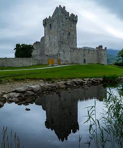 Mo 6/26  Western Ireland.  Ross Castle, Killarney.  Built in the late 13th Century.