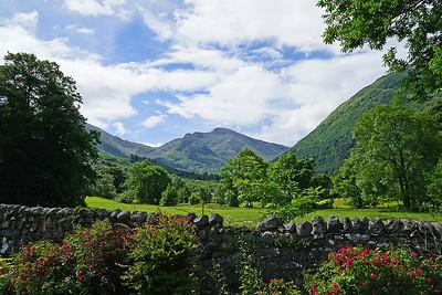 We 6/28  Scotland.  A golf course near Lochawe.