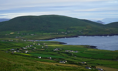 Su 6/25  Southwestern Ireland.  Alaghee Beg, a small community at the west tip of the Iveragh Peninsula (Ring of Kerry).