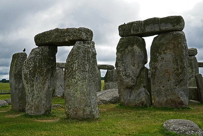 S 6/24.  Stonehenge.   Rocks are damn big.  Apparently built as perches for birds.  Mystery solved.