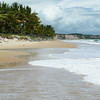 On the beach in Trancoso, Brasil