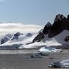Icebergs in Neko Harbour, Mainland Antarctic Peninsula