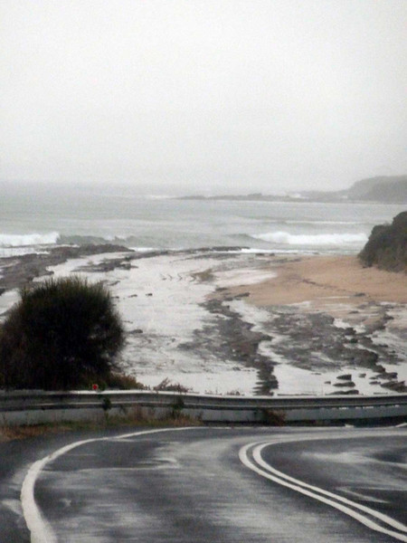 Dramaitc beach vistas along the windy ways of the Great Ocean Road, Victoria, Australia