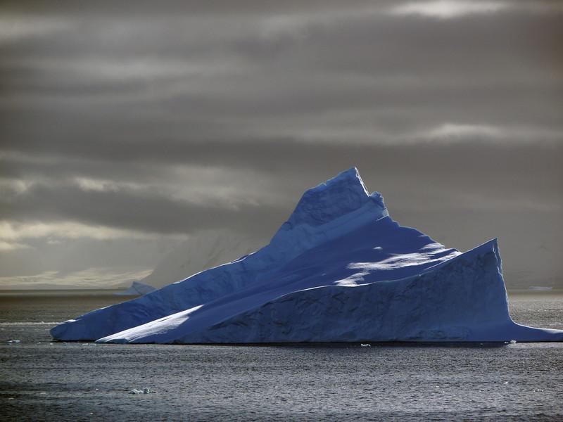 Massive iceberg in the Lemaire Channel & Penola Strait, Antarctic peninsula