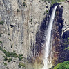 Rainbow falls in Yosemite National park, California