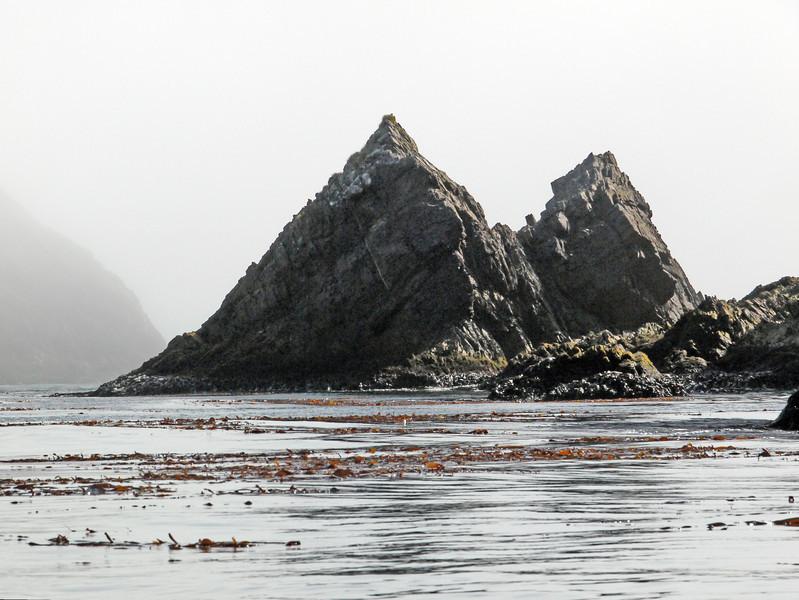Desolate bay in Elsehul, South Georgia, British Sub-Antarctic Territory