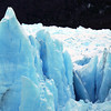 Ice detail at the Perito Moreno glacier at Los Glaciares national park in Patagonia, Argentina
