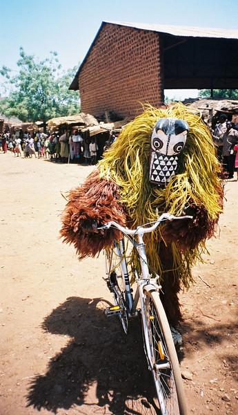 Bad Mask on a Bike - 2000-03 - Burkina Faso