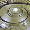 A staircase to rival the Vatican's, in the Supreme Court building, Washington DC