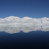 Serene mountain surroundings in Neko Harbour, Mainland Antarctic Peninsula